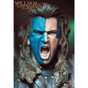William - Scottish Highlands - DE Luxe - War Paint