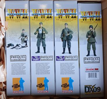 Dragon Expo Exclusive DX09 Barbarossa complete Set with Shirt (4 Figuren und T Shirt)