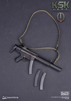 MP5SD6 SMG MIT SCHALLDÄMPFER 1/6
