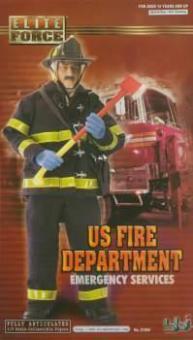 Feuerwehr, US Fire Department - Feuerwehrmann