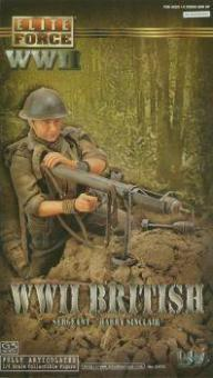 Harry, Sinclair, Burma 1944 - British Army Piat Gunner