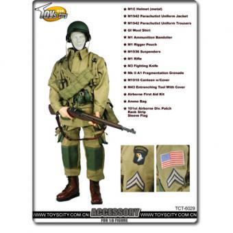 US Airborne Accessory Set 2 1/6