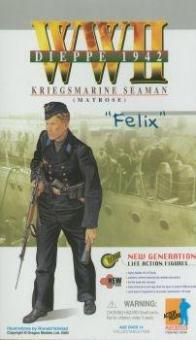 Felix, Dieppe 1942 - Kriegmarine, Matrose