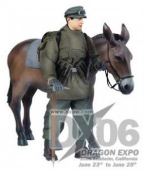 Fred K. Treiber mit Esel - DX06 Exclusive