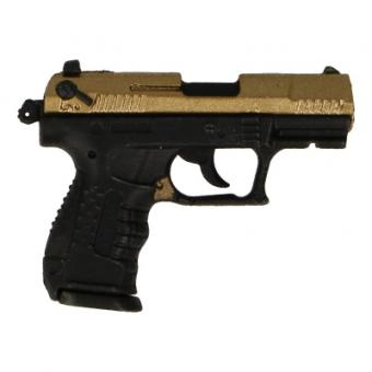 Walther P22 Pistol (Gold) 1/6