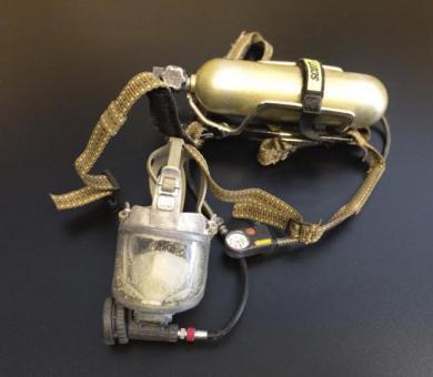 Feuerwehr Atmungsgerät(A) mit Maske