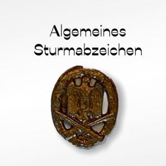 Allgemeines Sturmabzeichen gold 1/6