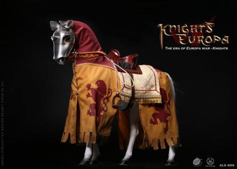 Armor Legend Series : The Era Of Europa War - Silver Armor Horse