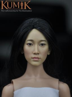 Asian Female Headsculpt KM16-27A