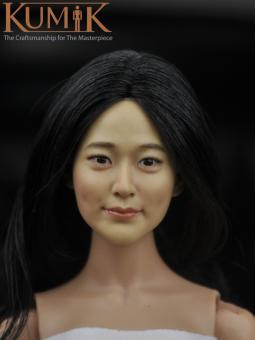 Asian Beauty Head 1/6 Kumik  KM16-28A
