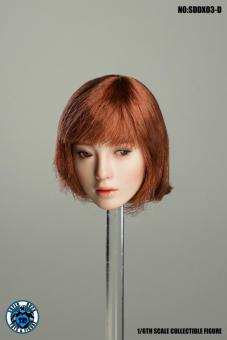 Sexy Asian  Style Kopf  mit bewegl. Augen 1:6