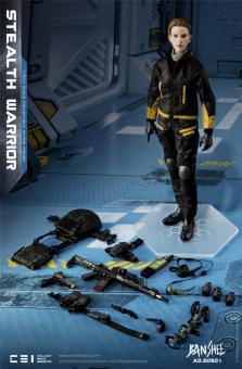 1/6 Banshee AD.2050.I - Stealth Warrior (Dark Version)