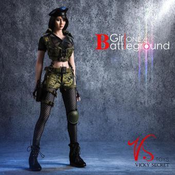 1/6 Battleground Girl Clothes