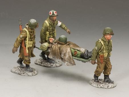 WWII Winter Stretcher Party