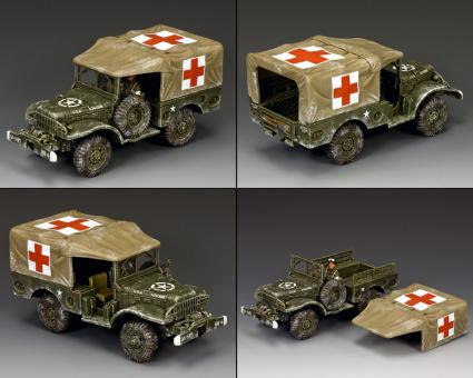 DODGE WS51 Weapons Carrier (Winter Ambulance)