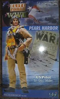 Lt Doc Miller ,Pearl Harbor - U.S. Army Air Force P-40 Pilot