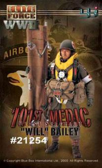 Will Bailey US 101st Airborne Medic, First Sergeant
