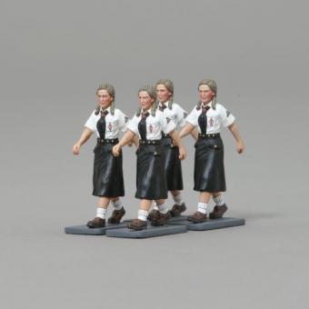 WWII:4x Bund Deutscher Madel Girls
