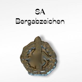 Bergabzeichen 1/6 in Metal