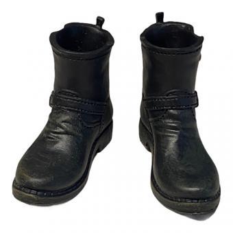 Biker Style Boots Black 1/6