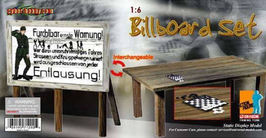 Plakatwand- oder Tisch-Set - im Maßstab 1:6