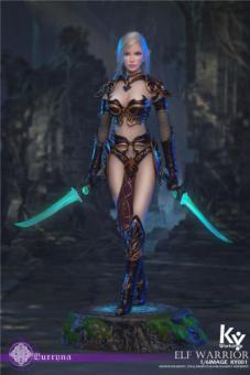 Black Elf Female Soldier Burryna Normal Version 1/6 Action Figure 30cm