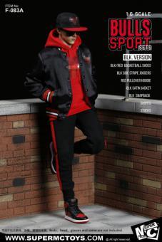 Bulls Sport Set (Black)