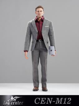 Business Man Suit Set (Grey) 1/6