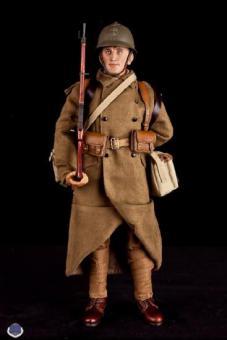 French Infantryman, Erster Weltkrie, WW I