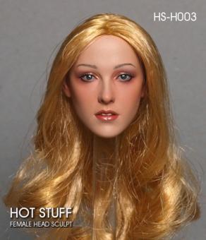 1/6 Scale Hot Caucasian Female Headsculpt