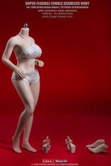 Caucasian Pale Female Super Flexible Seamless Body (Large Bust)