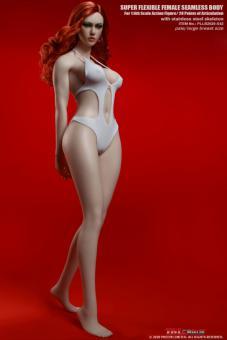 TBLeague/Phicen Body  - große Oberweite - Hautfarbe Pale