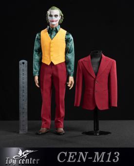 Clown Suit Set (Red) 1/6