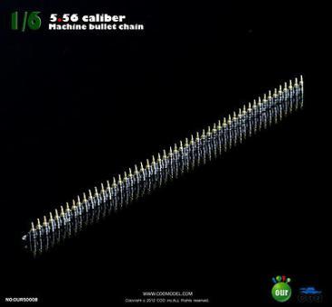 5.56 Caliber MG Gurt - 50 Patronen
