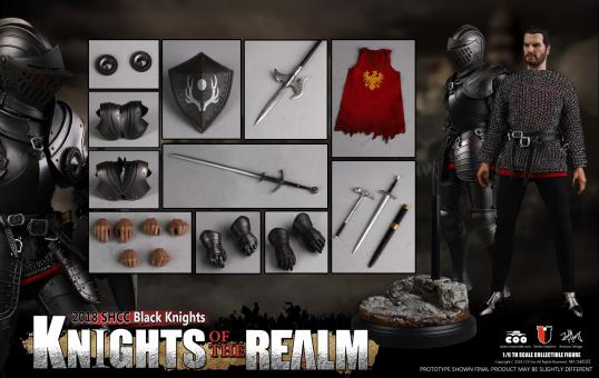 Series Of Empires - Knight Of The Realm Black Knight 1/6