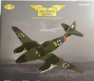 1:72 AV.ar. AA35702 Me 262 A-1a Yellow 5 Anton schöppler, 3 JG7 Saaz 1945