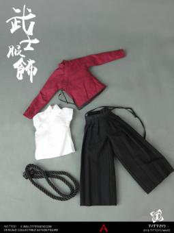 Costumes Of The Japanese Warring States Warriors Set (Red)