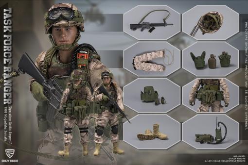Crazy Figure 1/12 Chalk Leader 75th Ranger