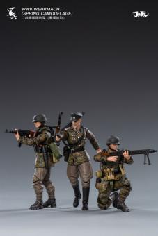 1:18 Deutsche Elite Soldaten Eichenlaubtarn (3Figuren)