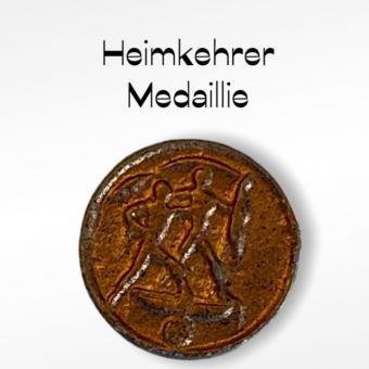 Deutsche Heimkehrer Medaillie  in Metal  1/6