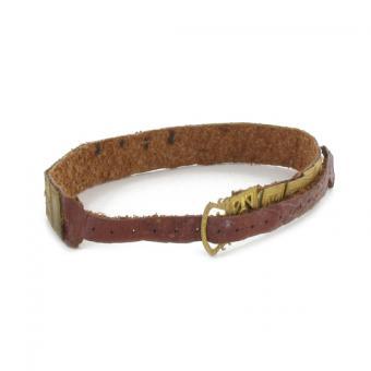 Die Cast Decorated Belt (Gold) 1/6