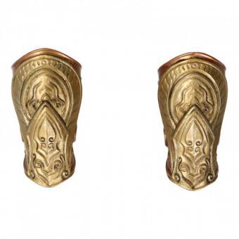 Diecast Forearm Armors (Gold) (1:6)