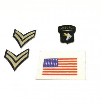 US Uniform Patches 101 Airborn