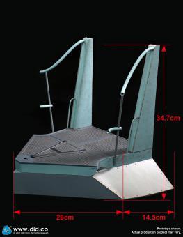 "U-Boot-Turm Diorama - Deckteil ""C"""
