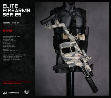 1/6 Elite Firearms Series 3 - Vector SMG Tactical Set (Alpine Gray)