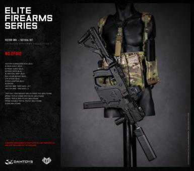 1/6 Elite Firearms Series 3 - Vector SMG Tactical Set (Blk)