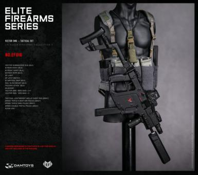 1/6 Elite Firearms Series 3 - Vector SMG Tactical Set (Blk)