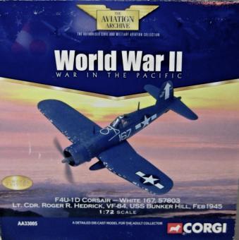 1:72  F4U Corsair Diecast ModelUSN VF-84
