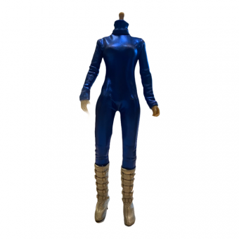 Female Body with Overall and Boots
