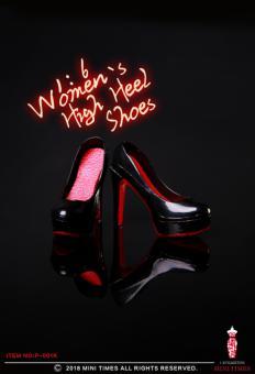 Female Heeled Shoes (Black) 1/6